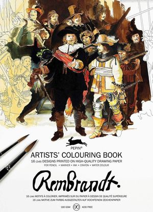 REMBRANDT ARTISTS COLORING BOOK