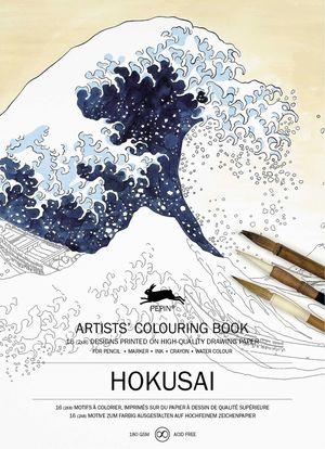 ARTISTS COLOURING BOOK HOKUSAI