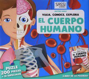 EL CUERPO HUMANO (MALETIN) LIBRO + PUZLE