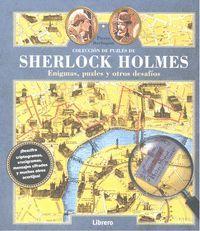 SHERLOCK HOLMES COLECCION PUZZLES ENIGMAS Y OTROS DESAFIOS