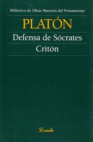 DEFENSA DE SOCRATES/CRITON