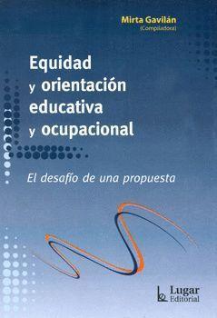 EQUIDAD Y ORIENTACION EDUCATIVA Y OCUPACIONAL