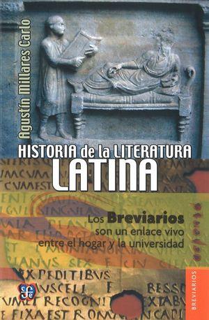 HISTORIA DE LA LITERATURA LATINA