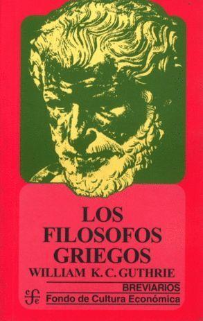 LOS FILOSOFOS GRIEGOS