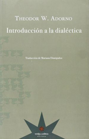 INTRODUCCION A LA DIALECTICA
