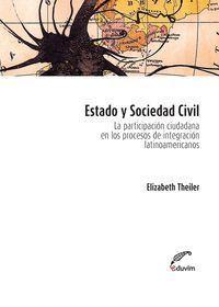 ESTADO Y SOCIEDAD CIVIL