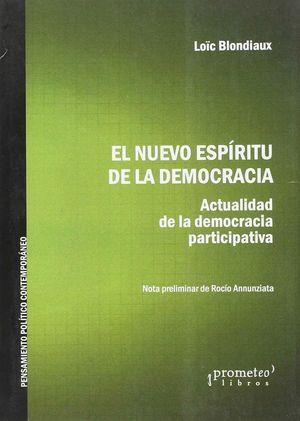 EL NUEVO ESPIRITU DE LA DEMOCRACIA