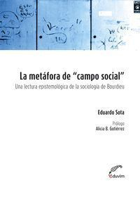 LA METAFORA DE CAMPO SOCIAL