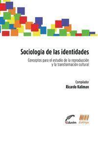 SOCIOLOGIA DE LAS IDENTIDADES