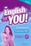 ENGLISH FOR YOU ESO 2 WB (WEB ACT) SPA