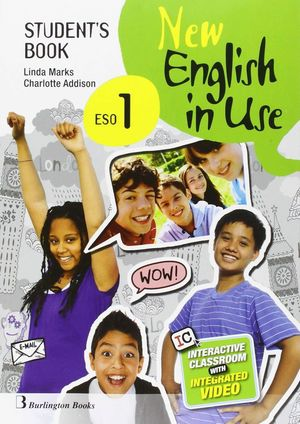 NEW ENGLISH IN USE 1º ESO STD. BOOK
