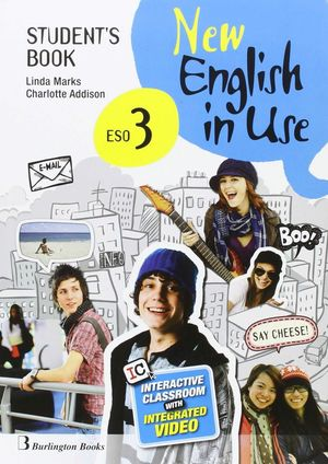 NEW ENGLISH IN USE 3º ESO STUDENT'S BOOK